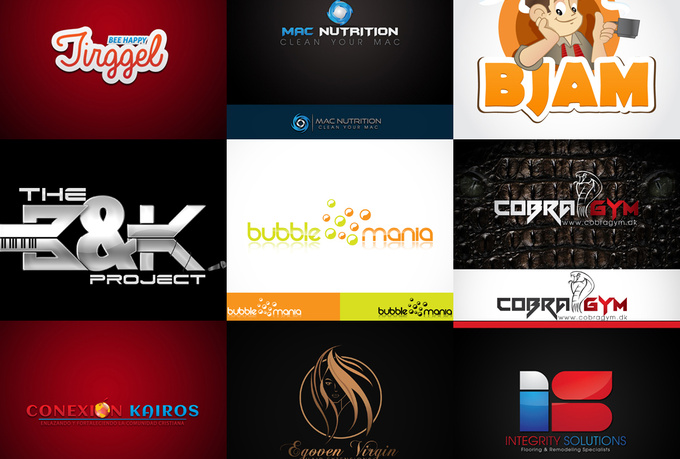 design Creative LOGO With 2 Concepts
