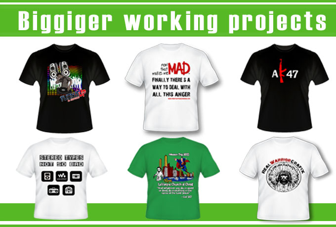 design You an Attractive Eye Catching and Professional T SHIRT