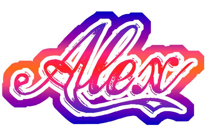 Imagenes d nombre alex en graffiti - Imagui