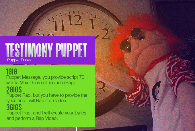 puppet message anything you want