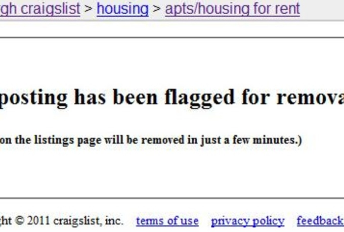 flag and remove Your Competitor ads on Craigslist - fiverr