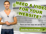 make VIDEO presentation with your website as background