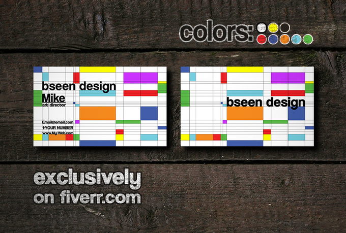 design an Awesome yet Professional business card