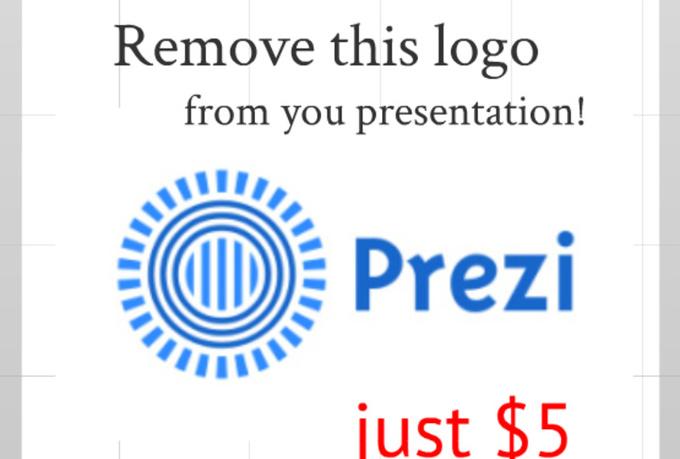 Remove prezi logo and add your logo fiverr for Prezzi lago design