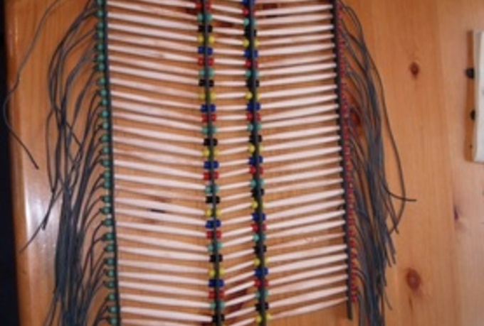 show You How Make A Native American Breastplate