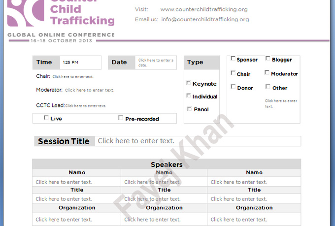 microsoft word fillable form template - Template