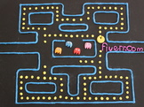 use stopmotion and pacman to convey your message or logo
