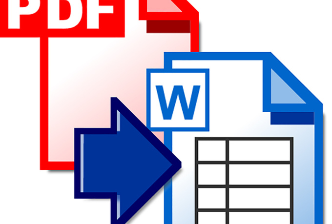 how to convert pdf to word in 5 seconds