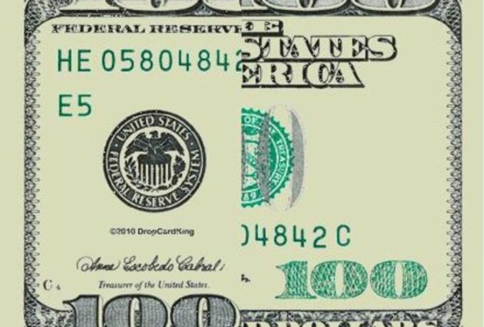 Create you a custom 100 dollar drop cards template fiverr for 100 dollar bill drop card template