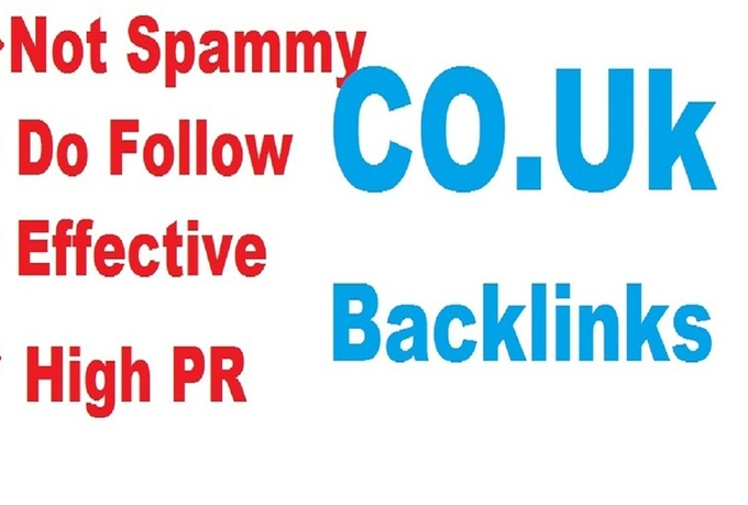 manually make 15 high pr dofollow co uk backlinks