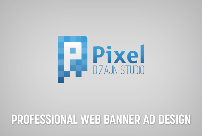 design a professional web banner ad