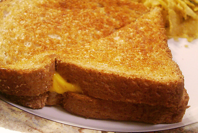 explain how to make the most delicious Grilled Cheese ever
