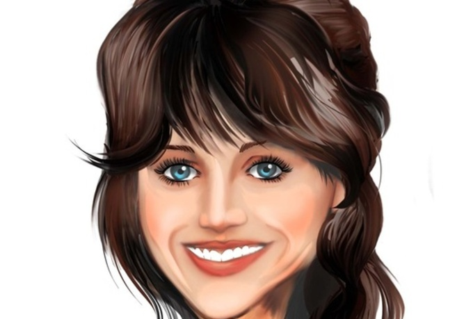 make a high end caricature head only
