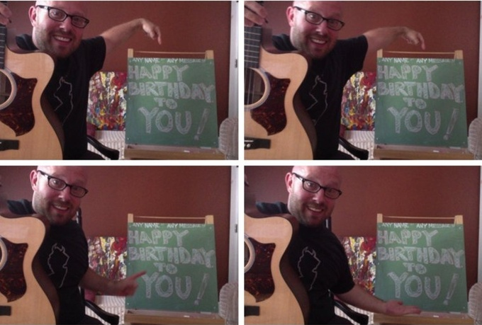 sing personalized Happy Birthday for ANYONE