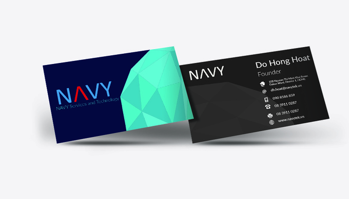 Make a professional business card in less than 24 hours for Fiverr business cards