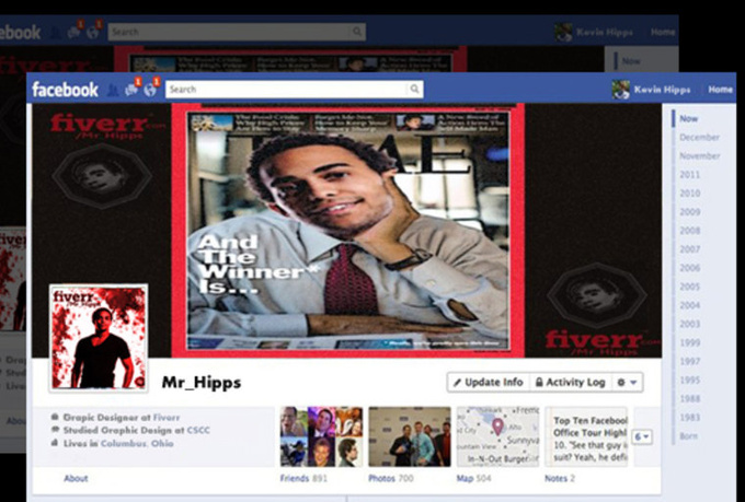 create FRESH facebook timeline covers that are eyecatching, lively and colorful