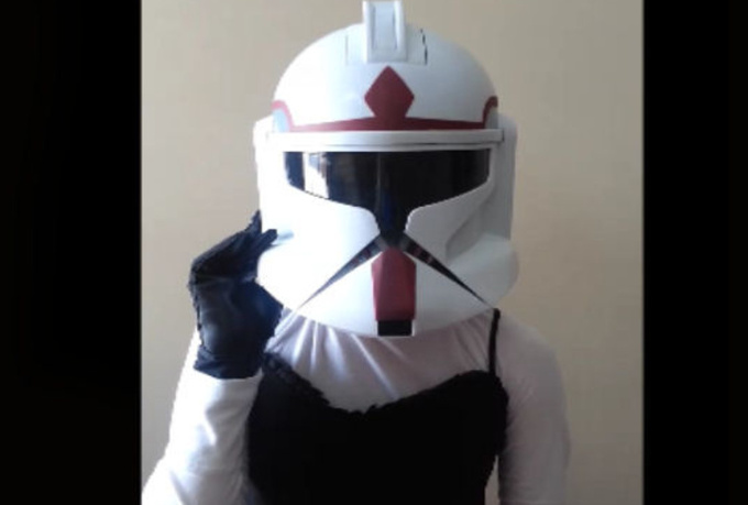 make a video as a STORMTROOPER and say anything you want