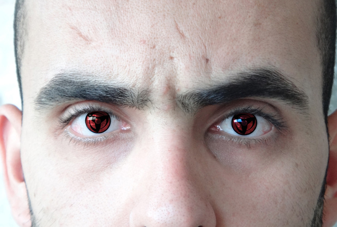 Real Sharingan Eye Contacts Turn your eyes into a real