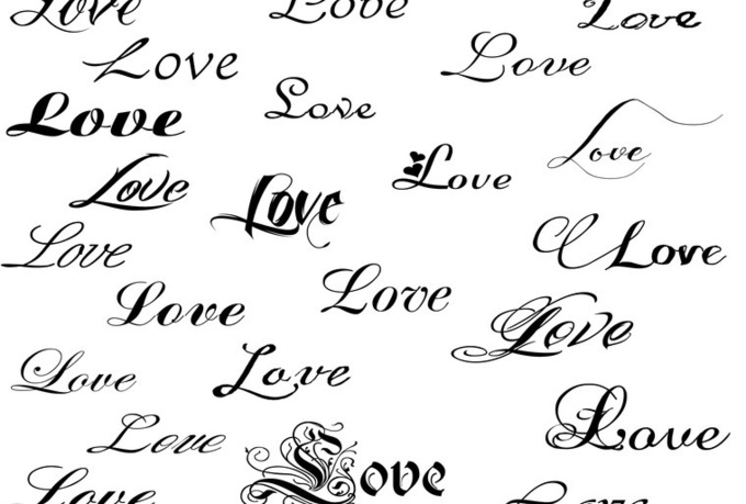 tattoo fonts for names