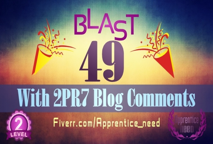 provide BLAST 49 Links With 2XPR7 From Blog Comments